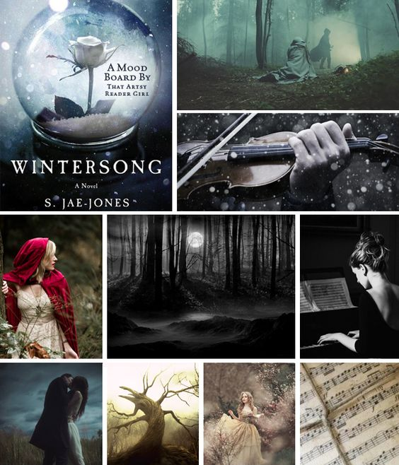 Found on Pinterest: MoodBoard-Wintersong