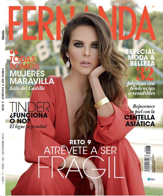 Actrices Y Actores Latinos Revista Fernanda Kate Del