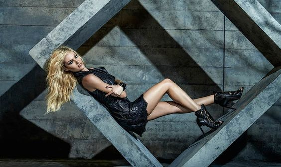 Candice Swanepoel for FORUM Denim Winter 2014 Campaign