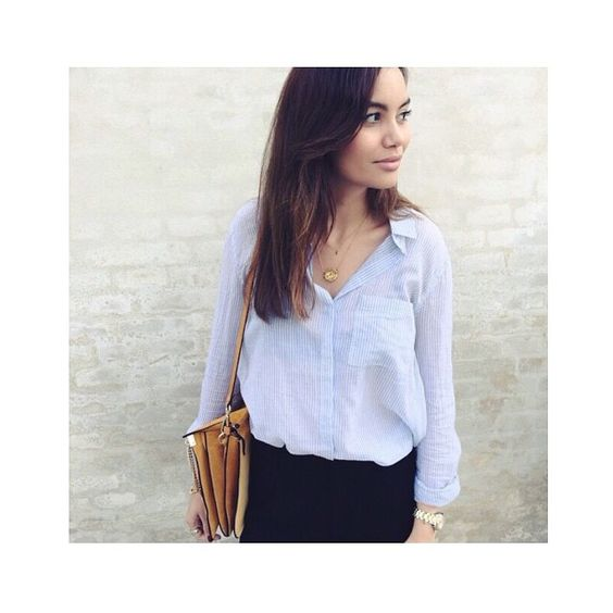@fundachristophersen wearing our Lubella Shirt #secondfemale #lubella #shirt #summer #look