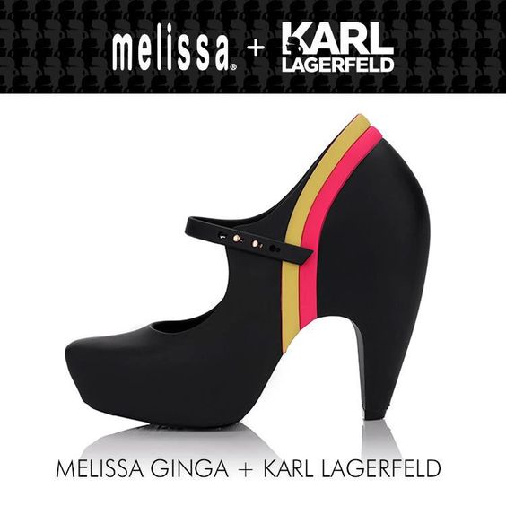 melissa ginga by karl lagerfeld