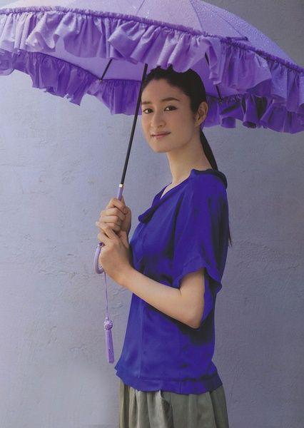 紫が似合う
