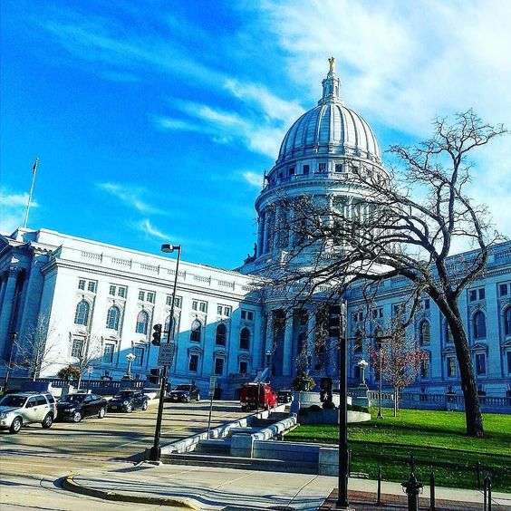 This week in the #MadisonBPTN2015 we are studying the Biblical institution of civil government  and thus we are taking a tour of the #wisconsin State Capitol.  #YWAM #ywammadison #government #tour by hickeychristopher http://bit.ly/dtskyiv #ywamkyiv #ywam #mission #missiontrip #outreach