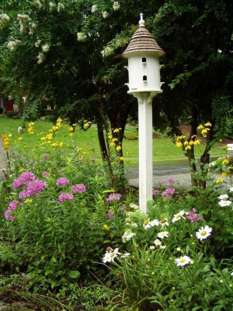 Between Naps on the Porch: A Dovecote in the Garden Landscape