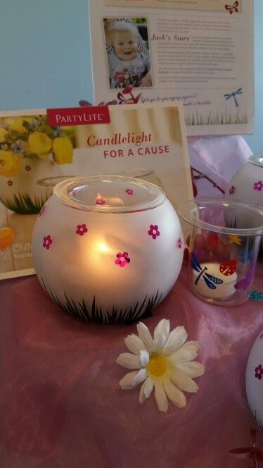 Children's Hospitals Foundation Australia piece Fluttering Friends Tealight Holder #childrens_hospital_foundations_australia #$3.50_donated #partylite_australia #the_candle_man_brenton_golley www.brentongolley.partylite.com.au