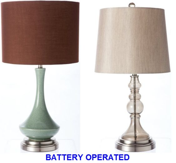 Battery Operated Table Lamps And Lamps On Pinterest