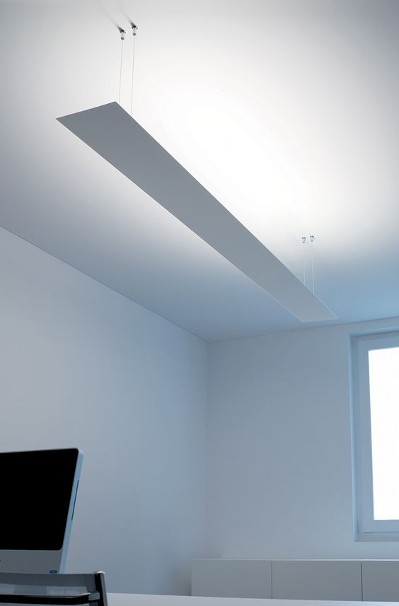 ceiling lamp: minimalistic design conception for diffused ...