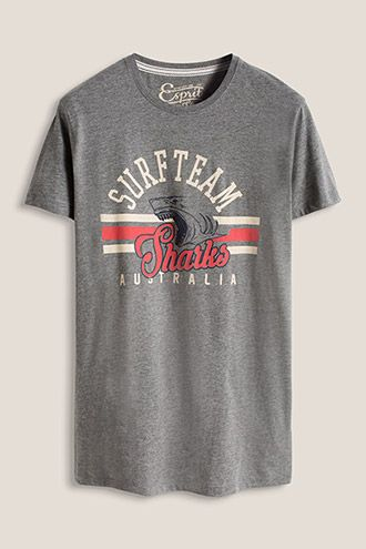 www.davidemartini.ink for Esprit / Jersey T-Shirt Print vintage print hand made lettering typo