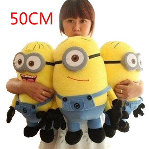 $23.68 (Buy here: https://alitems.com/g/1e8d114494ebda23ff8b16525dc3e8/?i=5&ulp=https%3A%2F%2Fwww.aliexpress.com%2Fitem%2F1pcs-Big-Size-50CM-Minions-Plush-Toys-Despicable-Me-2-Movie-Baby-Kids-20Inch-Minion-Toys%2F32594617540.html ) 1pcs Big Size 50CM Minions Plush Toys Despicable Me 2 Movie Baby Kids 20Inch Minion Toys Birthday Gift Free Shipping HT499 for just $23.68