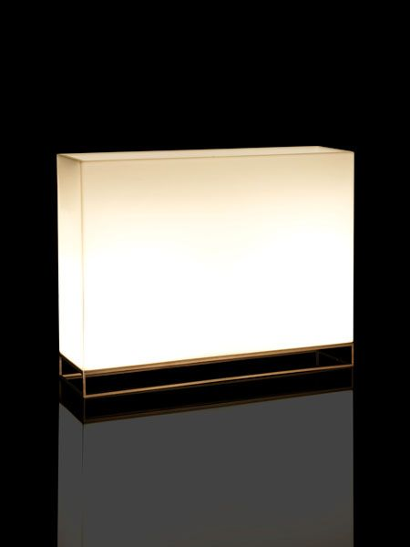 Vela - Modern frame mounted illuminated planters with easy watering system online at potstore.co.uk