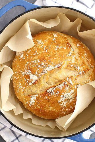 No-Knead Dutch Oven Bread