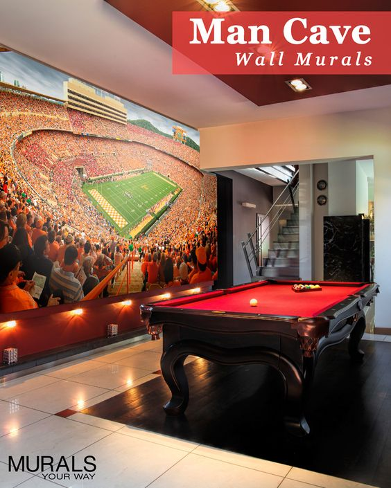 Pin By Ottmyster On Mancave: Man Cave Or Fan Cave? Take Your Love Of The Game To The