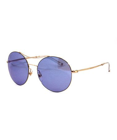 Gucci Purple Round Sunglasses - The tint is pure glamour...Zulily.com