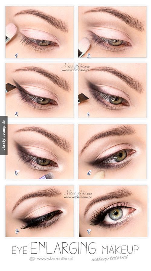 Ein Make-Up, dass für einen ganz besonders schönen Augenaufschlag sorgt!