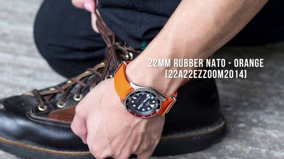 Ideally at the end of summer | Rubber Nato Straps on Seiko SKX007/SKX009 Video