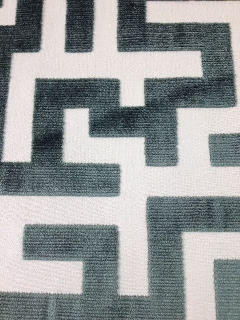 Jim Thompson Apollon Forest Green Velvet Fabric