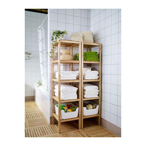 Ikea Bathroom Shelving Ideas: Bathroom Shelving Unit, Towels