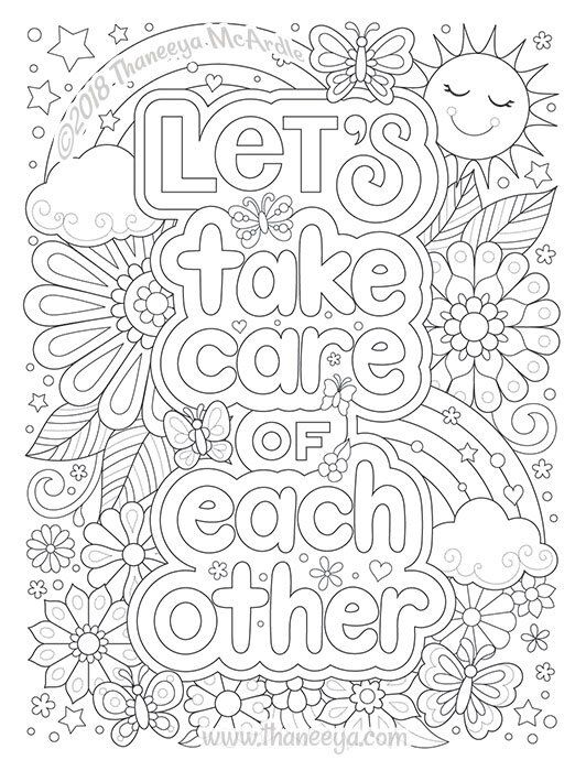 - Live A Colorful Life Coloring Book By Thaneeya McArdle — Thaneeya.com In  2020 Detailed Coloring Pages, Coloring Books, Mandala Coloring Pages