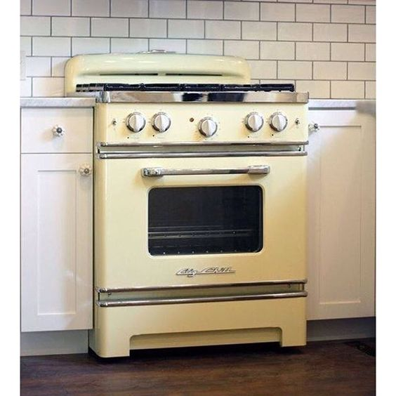 Free Picture Indoors Contemporary Stove Refrigerator: Big Chill, Cooking And Vintage Style On Pinterest