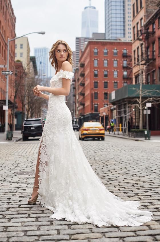 Bliss Spring 2019 Look 10 Monique Lhuillier Wedding Dress