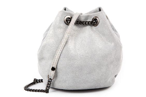 blingberlin Beuteltasche Velourleder Amel Grau in Kleidung & Accessoires, Damentaschen | eBay