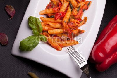 Italian Recipes - Pasta With Peppers
