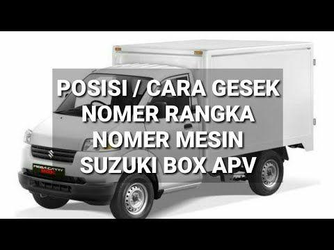 Posisi Nomer Rangka Dan Nomer Mesin Mobil Suzuki Box Apv Youtube Suzuki Dan Youtube