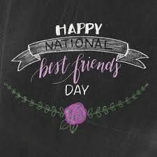National Best Friends Day Is June 8th Best Friends Day Quotes