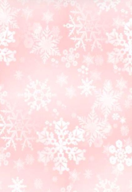 pink snowflake iphone wallpaper pink winter holiday