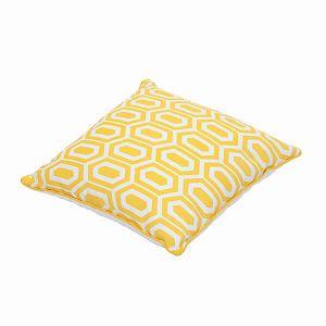 Cuscino Amy giallo 40 x 40 cm