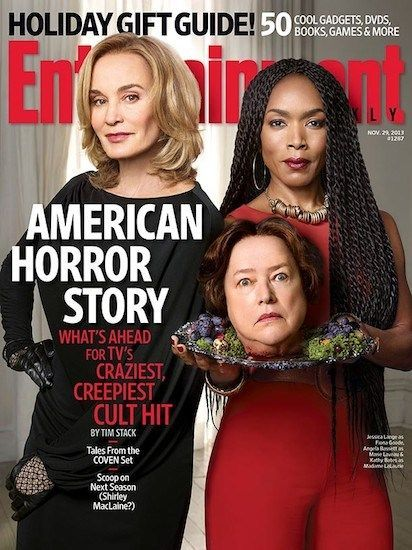 Jessica Lange and Angela Bassett serve up Kathy Bates