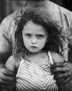 Sally Mann. So much emotion here. Makes me wonder what was going through her mind as she took this picture. I like pictures that produce thought.