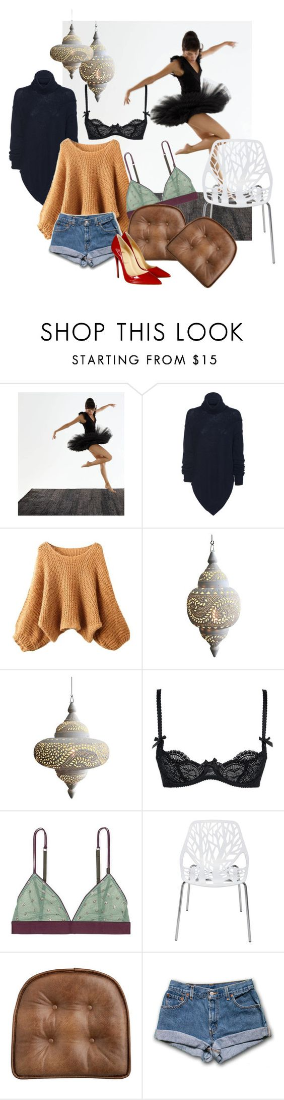 FtR by dodo85 on Polyvore featuring LoveStories, L'Agent By Agent Provocateur, Christian Louboutin and Nuevo