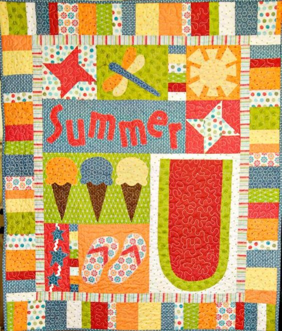 Evoke That Summer Feeling With 6 Summertime Quilt Patterns!