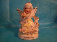 NAPCO A1361 JANUARY ANGEL w/ SPAGHETTI TRIM