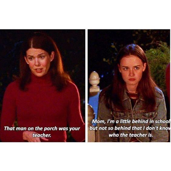 Rory and Lorelai