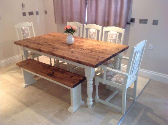 40 Best Farmhouse Table Ideas For Your Dining Room Shabby