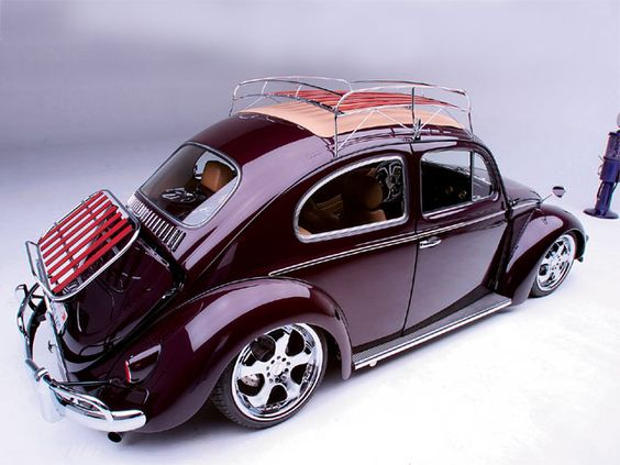 1959 Beetle Ragtop this one would be great... the year I was born :) Room to put your stuff.