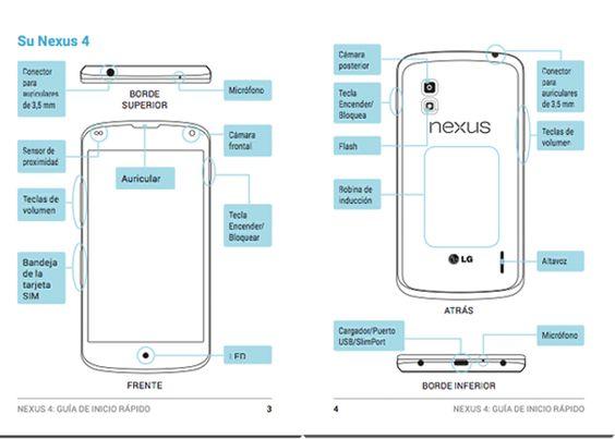 Manual de usuario del LG Nexus 4