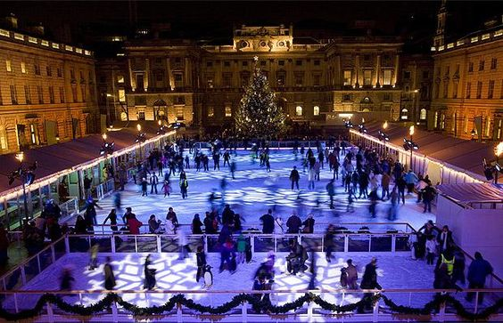 One of my favourite things to do in London at Christmas.