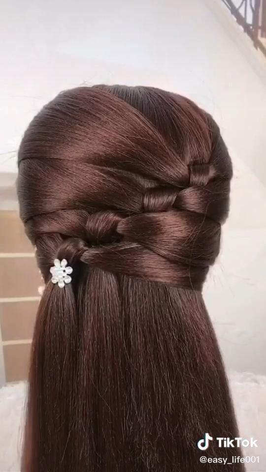 Tiktok Hairstyle Compilation Video Trendy Hairstyles 2020 1001 Hair Styles Hair Braid Videos Hair Up Styles