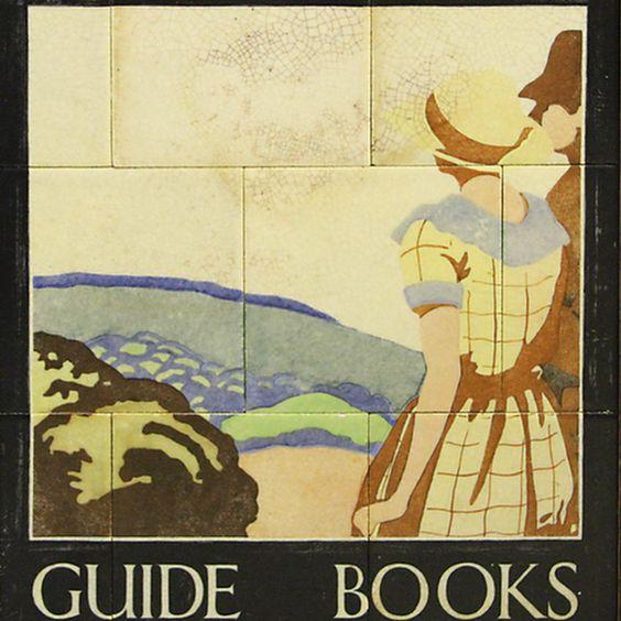 WH Smith guide book panel, artist unknown, circa 1920