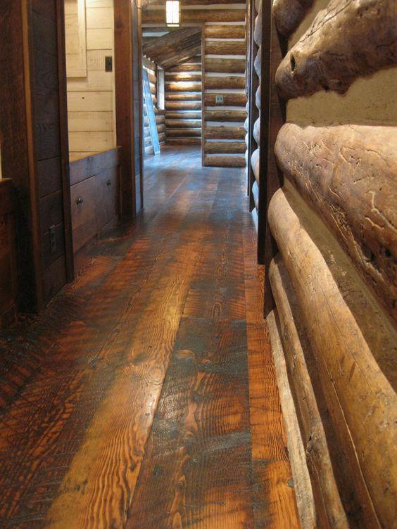 Pinterest the world s catalog of ideas for Reclaimed douglas fir flooring