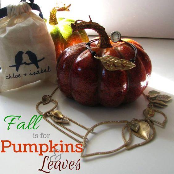 I love this season! <3 <3 <3  #ShopMySpot ~ http://geishaglamour.com/  #jewelry #pumpkins #leaves #fall #autumn #savings #chloeandisabel #geishaglam #chocolategeisha #necklaces #earrings #bracelets #charms #rings #NYCDesigns #nickelfree #leadsafe #lifetimeguarantee