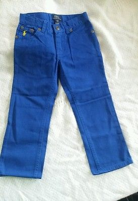 Ralph Lauren Cobalt blue color pants Brand new with tags toddler size 2t