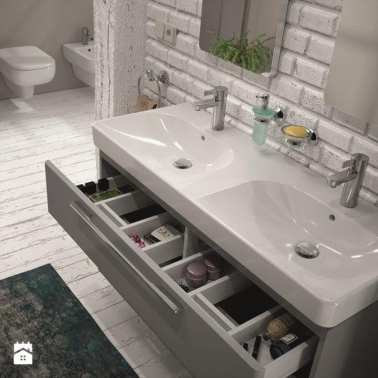 Szafka pod umywalk szuflada z przegr dkami bathroom for Bathroom e pod mara