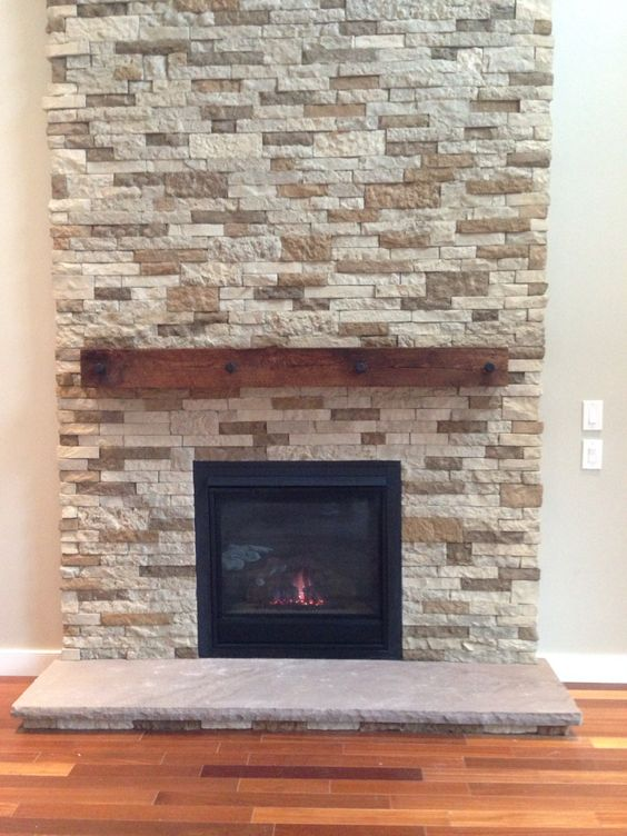 Airstone fireplace, Airstone and Fireplaces on Pinterest