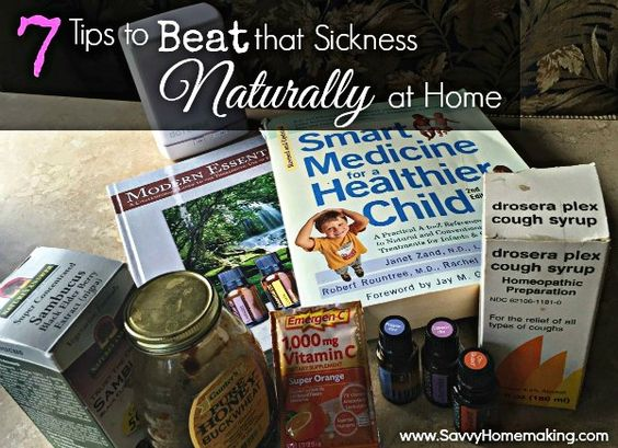 7 practical and realistic steps to start taking control of your health at home when illnesses attack.