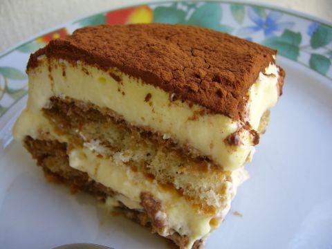Tiramisù senza uova crude né mascarpone (con crema allo zabaione e panna montata): With Cream, Cake Mania Iii, Books Worth, Cake 3, Dessert Mania