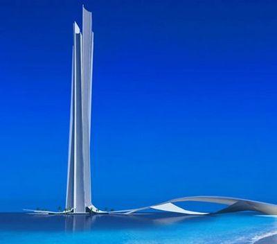Dubai – Wave tower